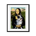 MonaLis-AussieCattleDog Framed Panel Print