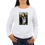 MonaLis-AussieCattleDog Women's Long Sleeve T-Shir