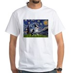 Starry-AussieCattlePup2 White T-Shirt