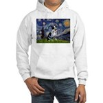 Starry-AussieCattlePup2 Hooded Sweatshirt