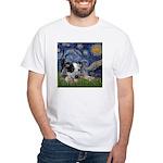 Starry-AussieCattleDogPup White T-Shirt