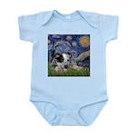Starry-AussieCattleDogPup Infant Bodysuit