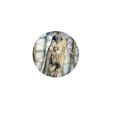 Great Gray Owl Mini Button
