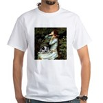 Ophelia - Aussie Cattle Pup White T-Shirt