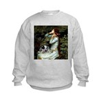 Ophelia - Aussie Cattle Pup Kids Sweatshirt