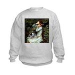 Ophelia - Aussie Cattle Pup Kids Sweatshirt