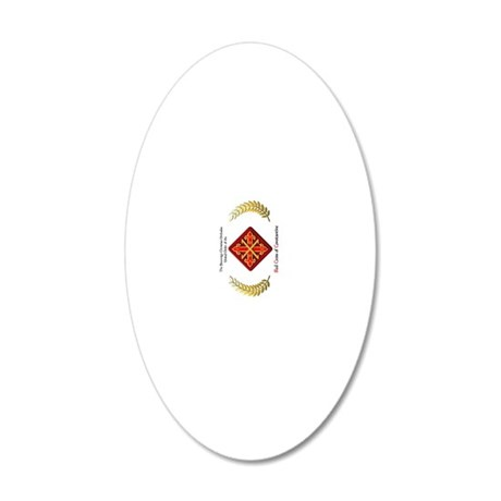 poster vert 20x12 Oval Wall Decal