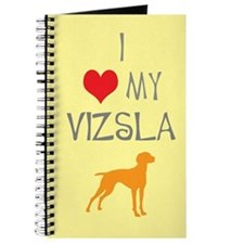 I Heart My Vizsla Journal