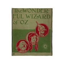 Vintage Wizard of Oz 1899 Throw Blanket