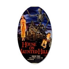 house on haunted hill Wall Decal