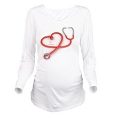 SLY Heart Foundation Long Sleeve Maternity T-Shirt