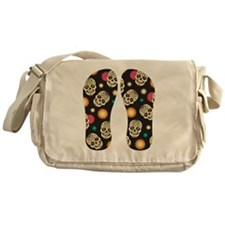 Mexican Skulls Messenger Bag