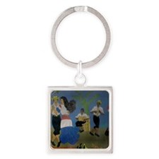 Dominican republic Square Keychain