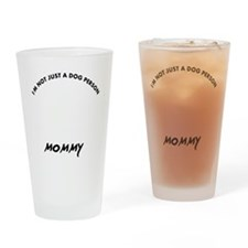 Chesapeake bay Retriever mommy desi Drinking Glass