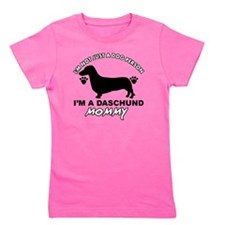 Dachshund dog breed Girl's Tee