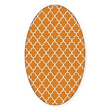 Moroccan Orange Decal