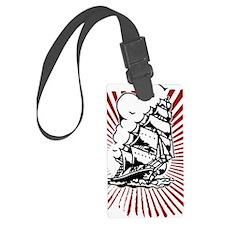 Pirate Ship Luggage Tag