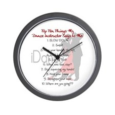 iDance - For the Students Wall Clock