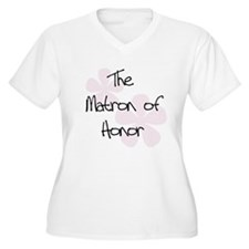 Matron of Honor Pink T-Shirt