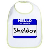 hello my name is sheldon  Bib