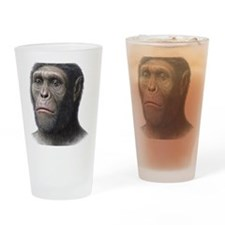 Australopithecus sediba head Drinking Glass