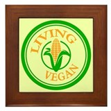 Living Vegan Framed Tile