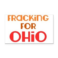 fracking_for_ohio_utica_shale Rectangle Car Magnet