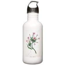 Tobacco flowers, histo Water Bottle