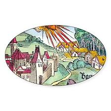 Ensisheim meteor fall, 1492 Decal