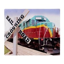 Mount Hood Railroad Throw Blanket