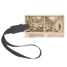 1682 Bible Hydra - Beast of Apoc Luggage Tag
