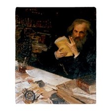 Dmitri Mendeleev, Russian chemist Throw Blanket