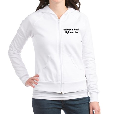 George W. Bush - High on Lies Jr. Hoodie