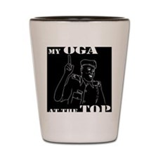 My Oga at the TOP Shot Glass