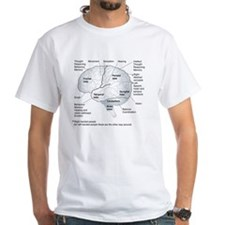 Functional areas of the brain, ar Shirt