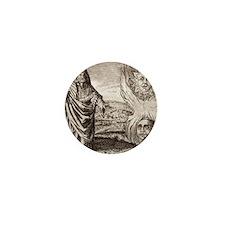 Hermes Trismegistus, classical god Mini Button