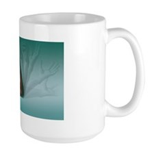 Male muscles, artwork Mug