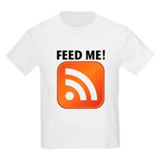 Feed Me RSS icon T-Shirt