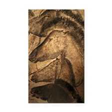 Stone-age cave paintings, Cha Rectangle Car Magnet