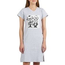 Watson and Crick, DNA discovers Women's Nightshirt