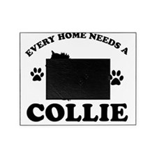 Cute Collie designs Picture Frame