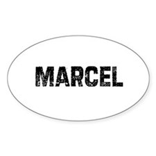 Marcel Oval Decal