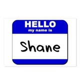hello my name is shane  Postcards (Package of 8)