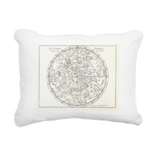 Star map, 1805 Rectangular Canvas Pillow