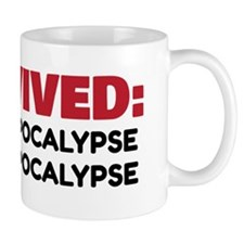 Red/Black Apocalypse Survivor! Mug