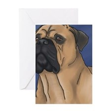 Bull Mastiff Greeting Card