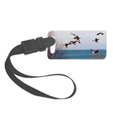 Geese Luggage Tag