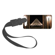 Louvre Luggage Tag