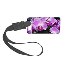 Purple orchids, Luggage Tag