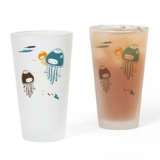 Cute Jellyfish Drinking Glass